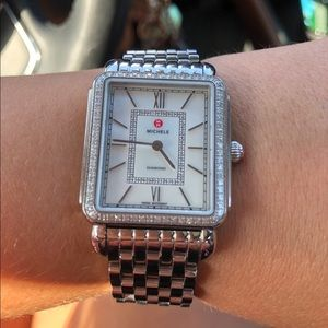 Michele watch with diamonds